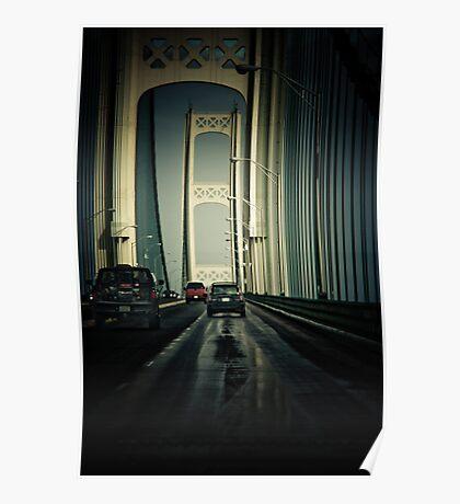 Mackinac Bridge II Poster