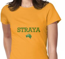 STRAYA! Womens Fitted T-Shirt