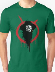V for Vendetta Ink T-Shirt