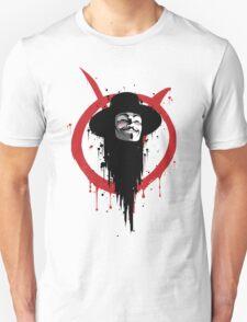V for Vendetta Ink T-Shirt