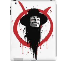 V for Vendetta Ink iPad Case/Skin
