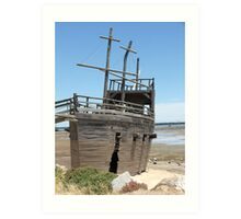 Pirate Ship 1 Art Print