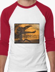 Apocolyptic Dash Bauble Men's Baseball ¾ T-Shirt