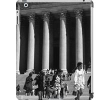 BW USA Washington Memorial Lincoln 1970s iPad Case/Skin