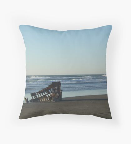 Peter Iredale Throw Pillow