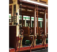 Tram 42 - Side View Photographic Print