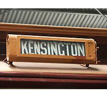 Kensington Photographic Print