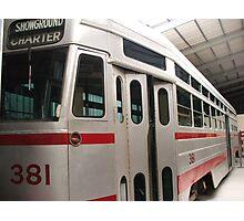 Tram 381 Photographic Print