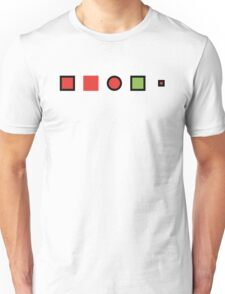 The test on your chest Unisex T-Shirt