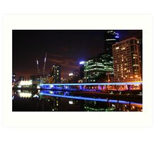 Yarra River, Melbourne, Australia Art Print