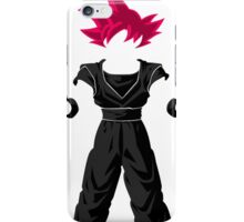Dragon Ball super - Sangoku iPhone Case/Skin