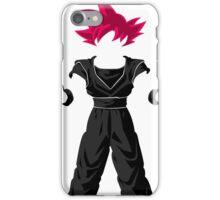 Dragon Ball super - Sangoku iPhone Case/Skin