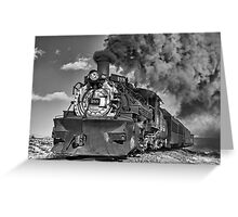Engine 488, Cumbres & Toltec Railway, Part II Greeting Card