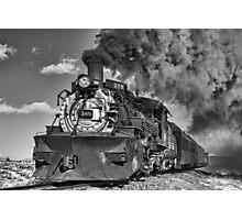 Engine 488, Cumbres & Toltec Railway, Part II Photographic Print