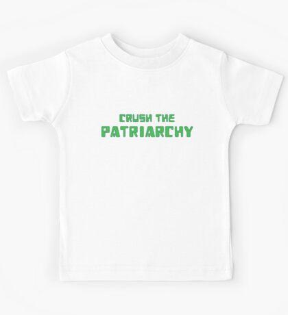 Crush the Patriarchy [Digital Revolution] Kids Tee