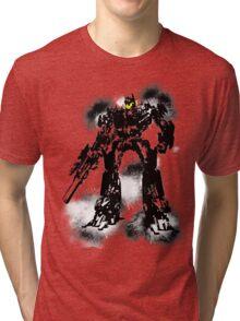 Smiley optimus Tri-blend T-Shirt