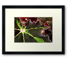 Red Mist at Dawn Framed Print