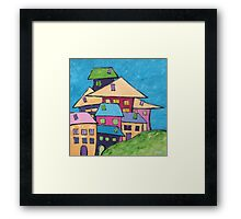 Close Knit Community Framed Print
