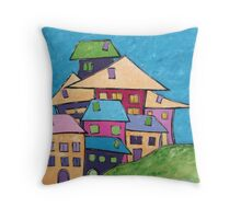 Close Knit Community Throw Pillow