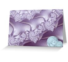 Mauve Delight II - Serenity Greeting Card