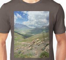 a stunning Tajikistan landscape Unisex T-Shirt