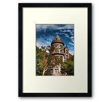 An old house of  Gotham City Framed Print
