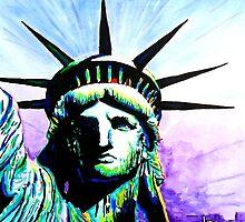 Lady Liberty by ArtbyLeclerc