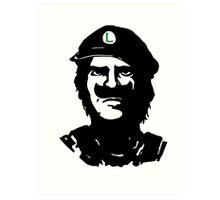 Luigi Che Art Print