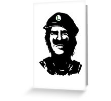 Luigi Che Greeting Card