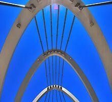 Sunny Bridge by Bas Van Uyen