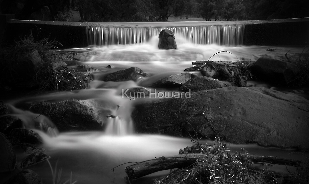 Falls on the Creek by Kym Howard