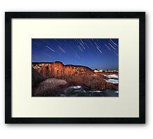 Port Stephens Startrails Framed Print