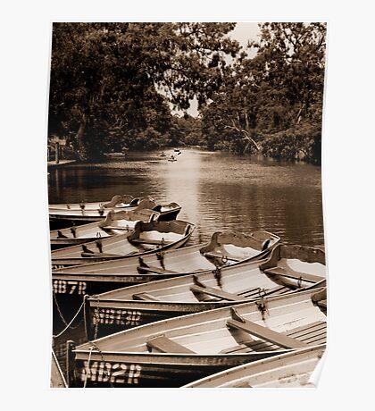 Yarra Bend - the boatshed #2 Poster