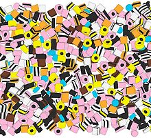 Lots of Liquorice Allsorts by Martin Lucas