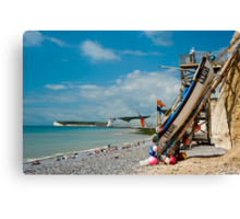 Seven Sisters from Birling Gap Canvas Print