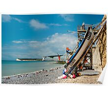 Seven Sisters from Birling Gap Poster