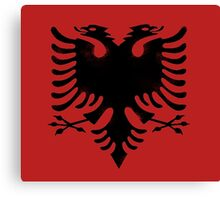 red and black eagle  Canvas Print