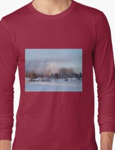 Frozen Lake Long Sleeve T-Shirt