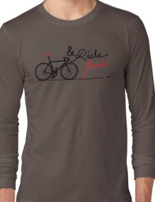 ride fixie Long Sleeve T-Shirt