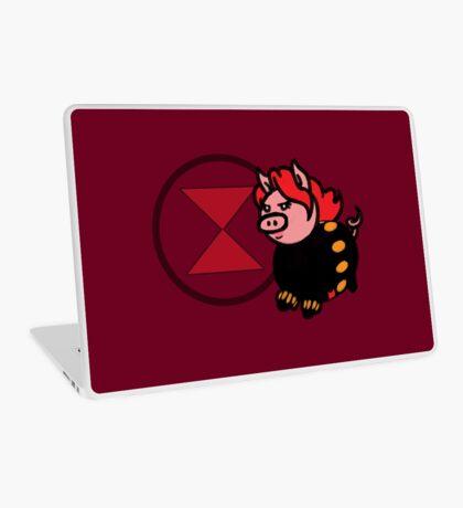 Pink Widow Laptop Skin