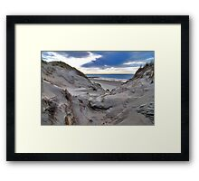 Dune and beach 3 Framed Print