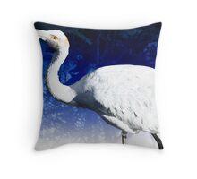 Brolga, Victoria, Australia Throw Pillow