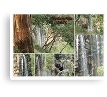 Trentham Falls..Victoria..Collage Canvas Print