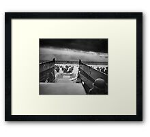 Omaha Beach Landing -- D-Day Normandy Invasion Framed Print