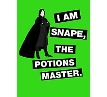 The Potions Master Photographic Print