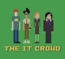 The IT Crowd – Roy, Moss, Jen and Douglas Baby Tee