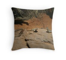 Lizards, Australia Throw Pillow