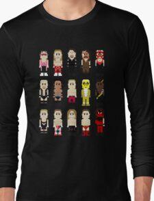 8-Bit Wrestlers '97! Long Sleeve T-Shirt
