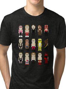 8-Bit Wrestlers '97! Tri-blend T-Shirt