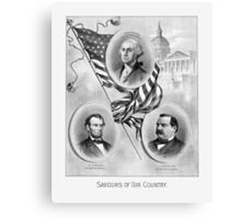 Saviours Of Our Country -- American History Canvas Print